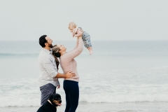 Van Eck Family Photoshoot The Wreck Beach Plett
